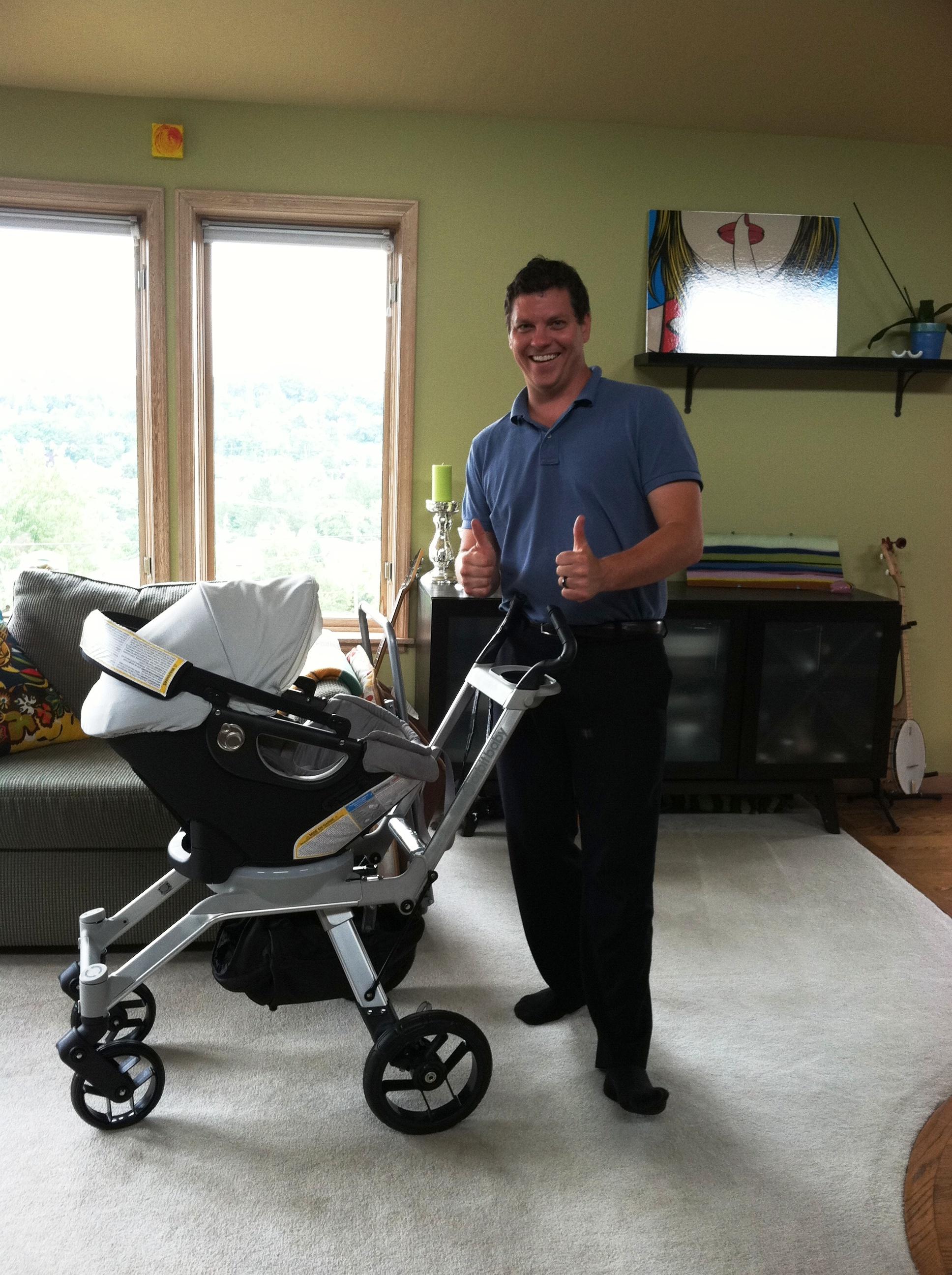 The Orbit Baby Stroller | Jen's Favorite Things