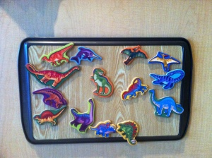 Cookie Sheet magnet board