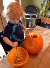 B with Pumpkin