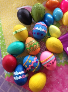 Finished Easter Eggs